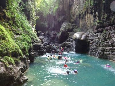 Tempat Wisata Green Canyon Jawa Barat