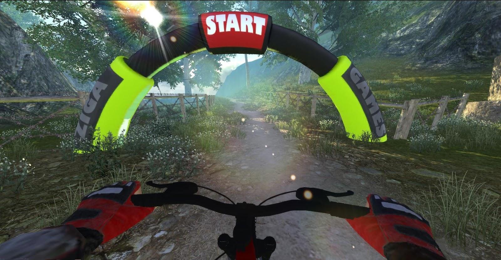 MTB DownHill Multiplayer MOD APK Terbaru