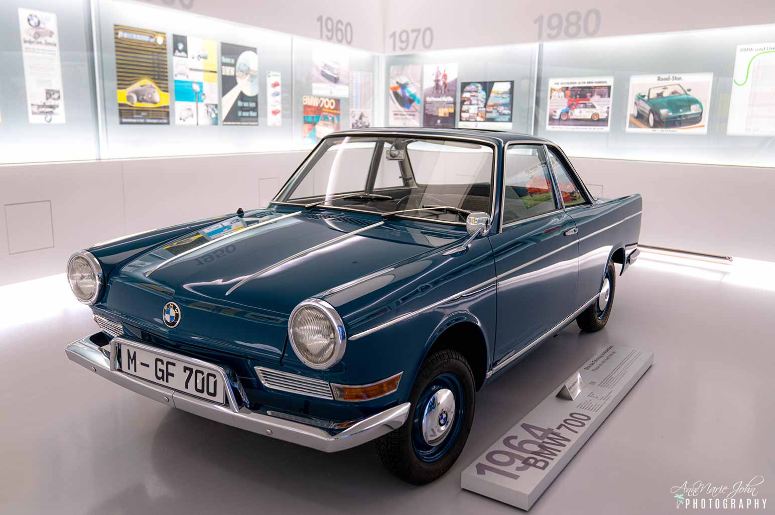 1964 BMW 700 in the BMW Museum, Munich