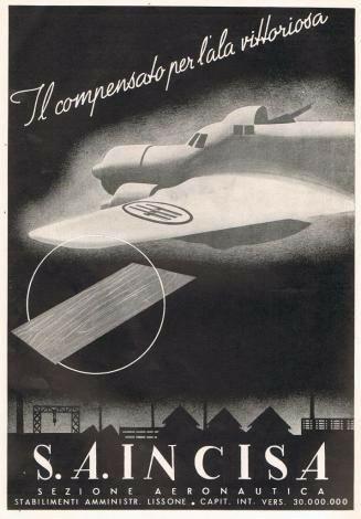 Incisa Fascist airplane ads worldwartwo.filminspector.com