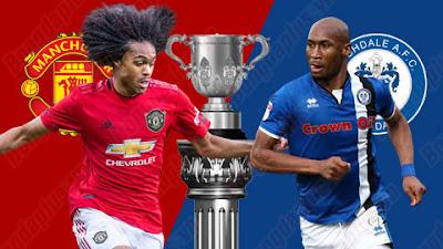 مشاهدة مباراة مانشستر يونايتد وروكدال بث مباشر اليوم 25-9-2019 في كأس الرابطة للمحترفين