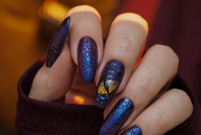 Bubble Nails | Smocze paznokcie