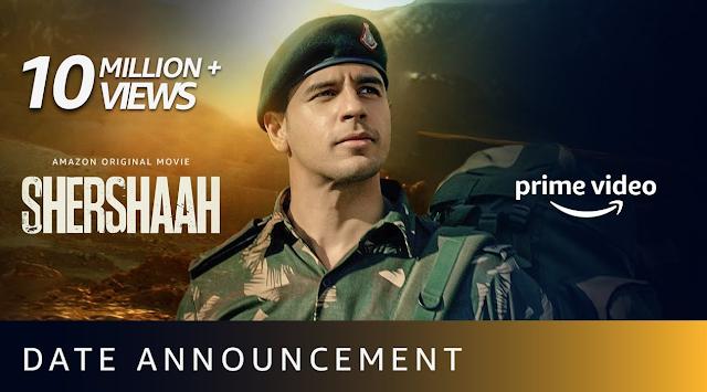 """""""Shershaah"""" Full Movie Watch Online Free, ऑनलाइन कहां देखें """"Shershaah"""" पूरी मूवी, रिलीज की तारीख, कास्ट"""
