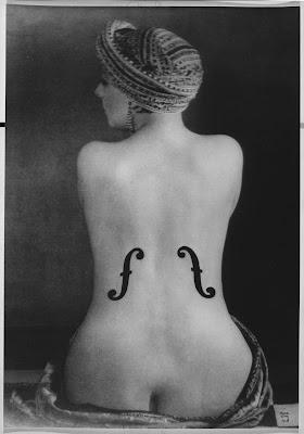 El violín de Ingrés, Man Ray