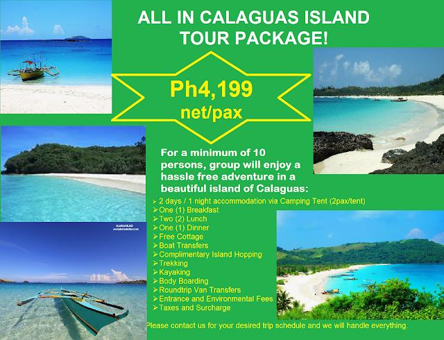 Calaguas Island Tour Package