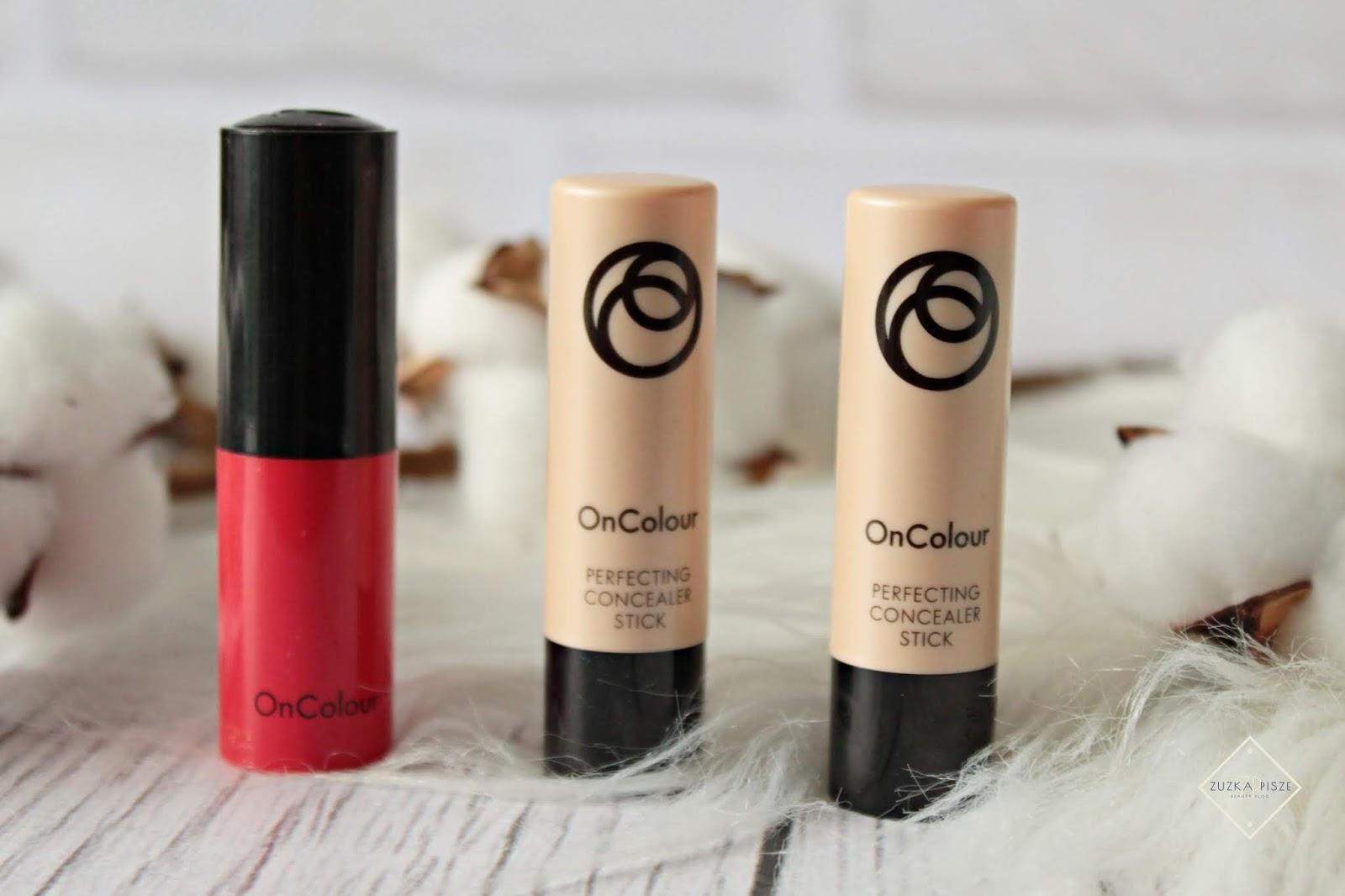 OnColour - kremowe korektory i pomadka ORIFLAME