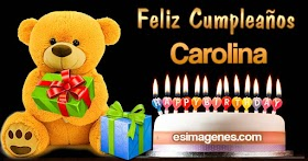 Feliz Cumpleaños Carolina