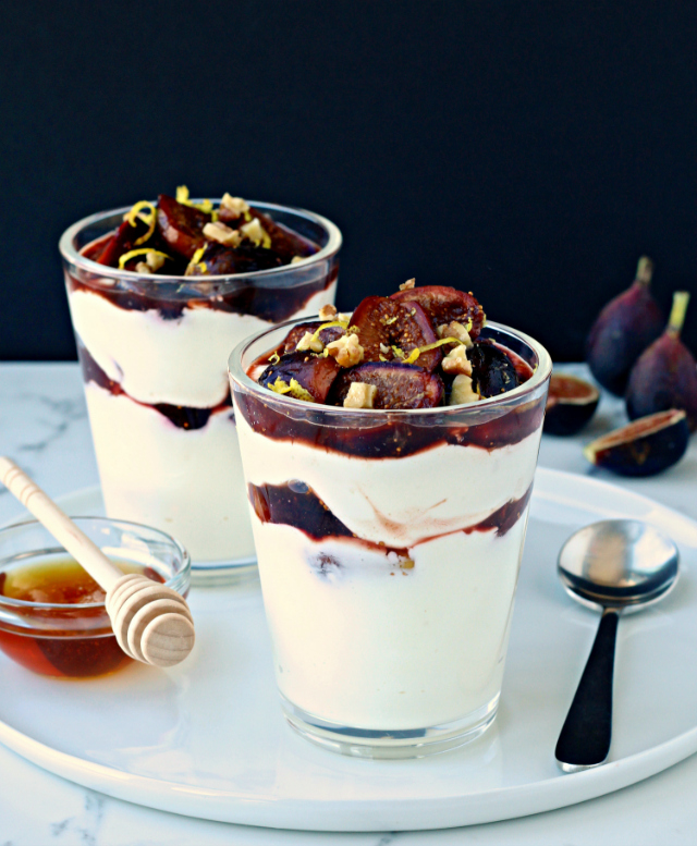 #thefoodiephysician #yogurtparfait #figs #glutenfree