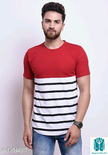 Fancy Men's Stylish Cotton T-Shirts