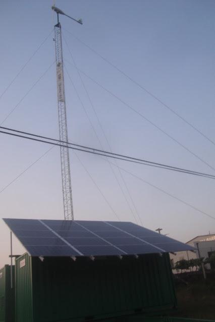 Fenosa inicia las obras para poder dar luz a todo Barro desde la subestación de Curro
