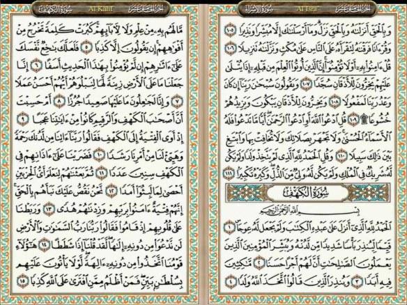 Baca Surat Al-Kahfi di Hari Jum`at, Khasiatnya Laksana Jimat!