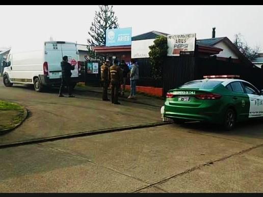 Osorno: robo frustrado a vehículo repartido r de cigarrillos