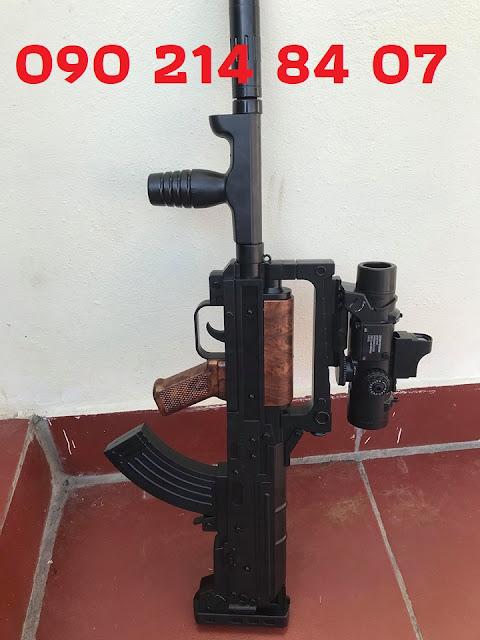 Súng mô hình Pubg đạn thạch  liên thanh Groza_1