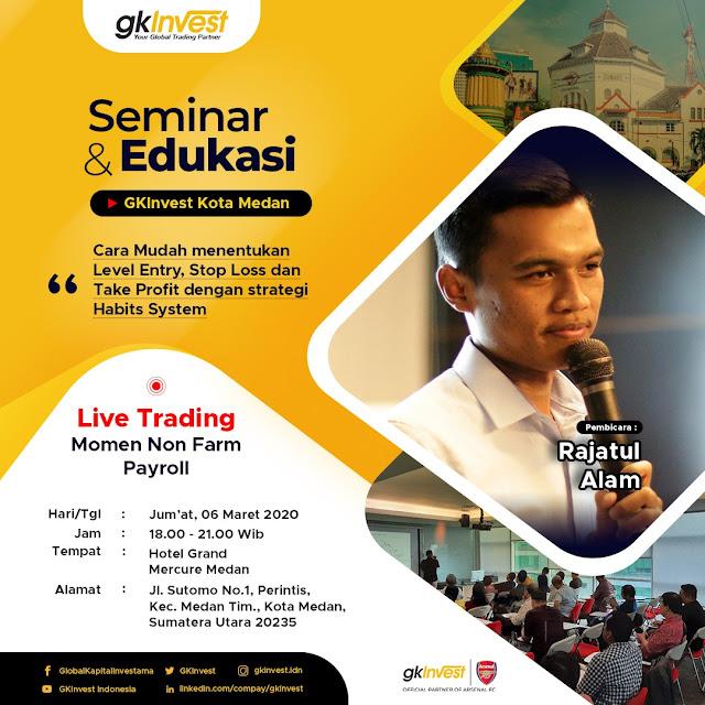 seminar Rajatul Alam di Medan