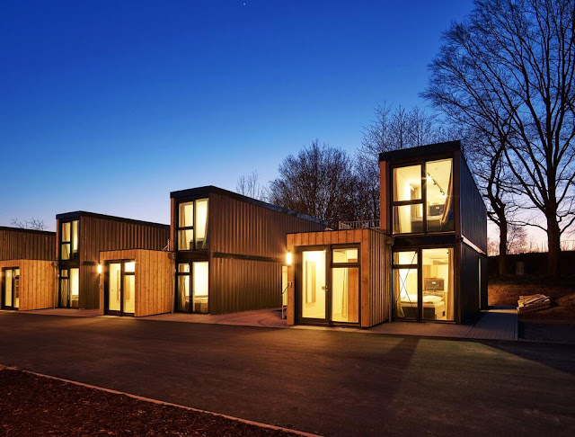 Shipping Container Tiny Homes Village, Germany 1