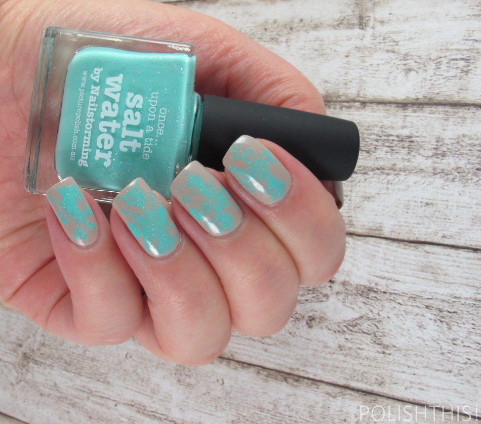 Picture Polish Salt Water Essie Sand Tropez
