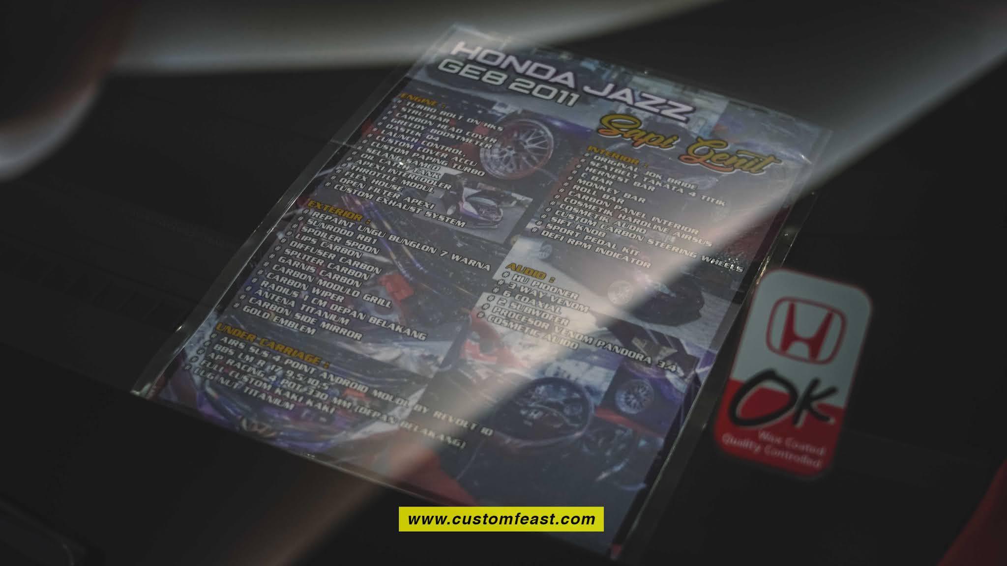 Honda Jazz Modified Best Street Racing Cars Specification