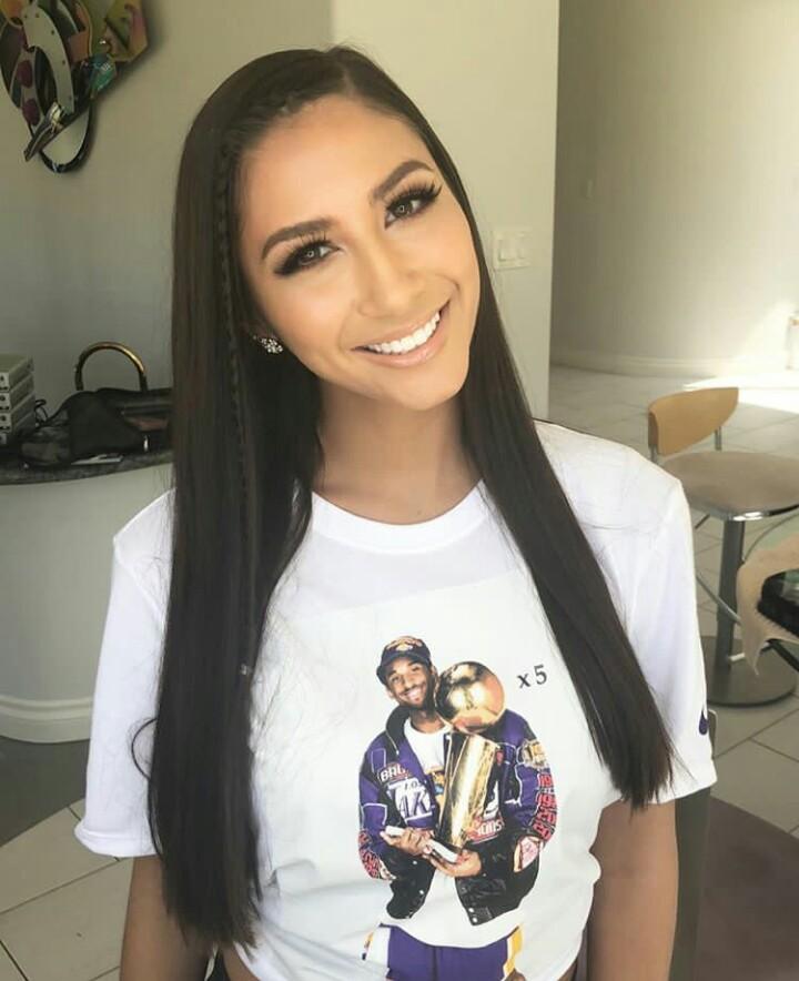Gianna Dior Long hair Down Smiling