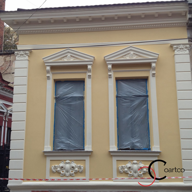 Reabilitare fatade cladiri vechi, cladiri istorice, ornamente fatada case, baghete polistiren