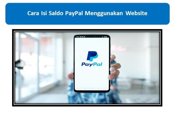 Cara Isi Saldo PayPal