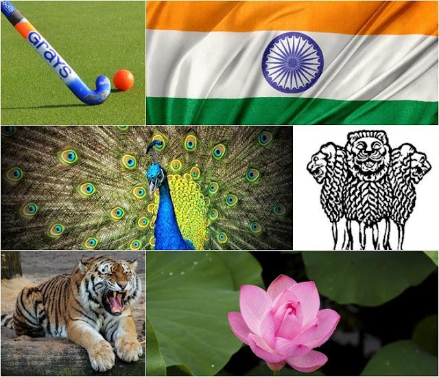 National Symbols of India,Emblem,Bird,Animal,Flower of India