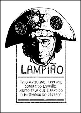 Desenho de lampião - Cangaço