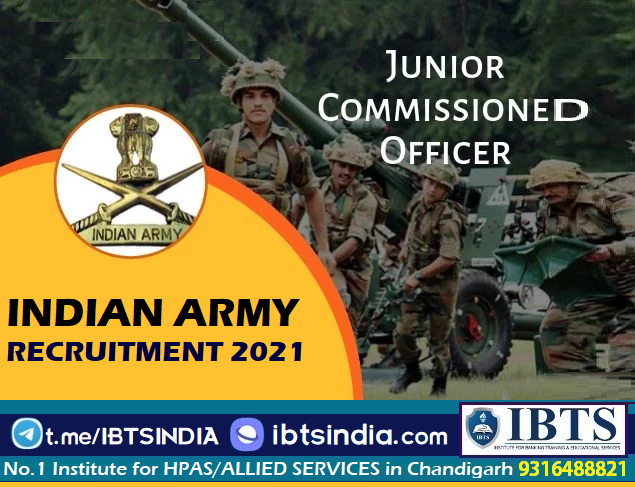 Indian Army Recruitment 2021 194 Jr Commissioned Officer Posts (Apply Now)