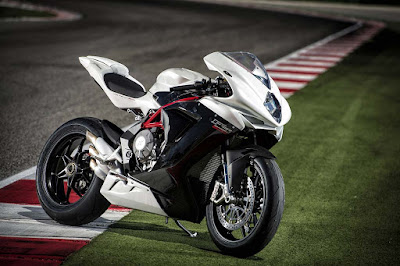 MV Agusta F3 800 white colour