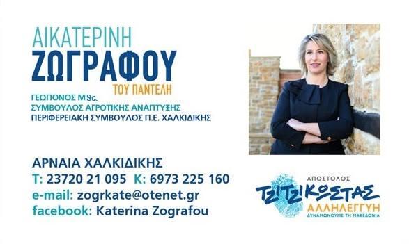 Δυναμώνουμε τη Μακεδονία  Ξεκινάμε απο τη Χαλκιδκή