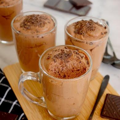 Mousse au Chocolat Végétalienne à l'Aquafaba
