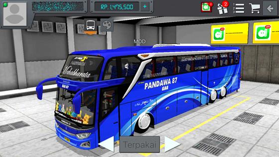 livery pandawa 87 mahabharata jb3+ tronton