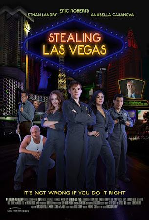 Poster Of Stealing Las Vegas In Dual Audio Hindi English 300MB Compressed Small Size Pc Movie Free Download Only At worldfree4u.com