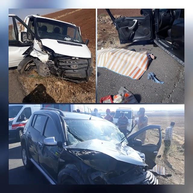Suruç yolunda feci kaza: 1 ölü, 7 yaralı