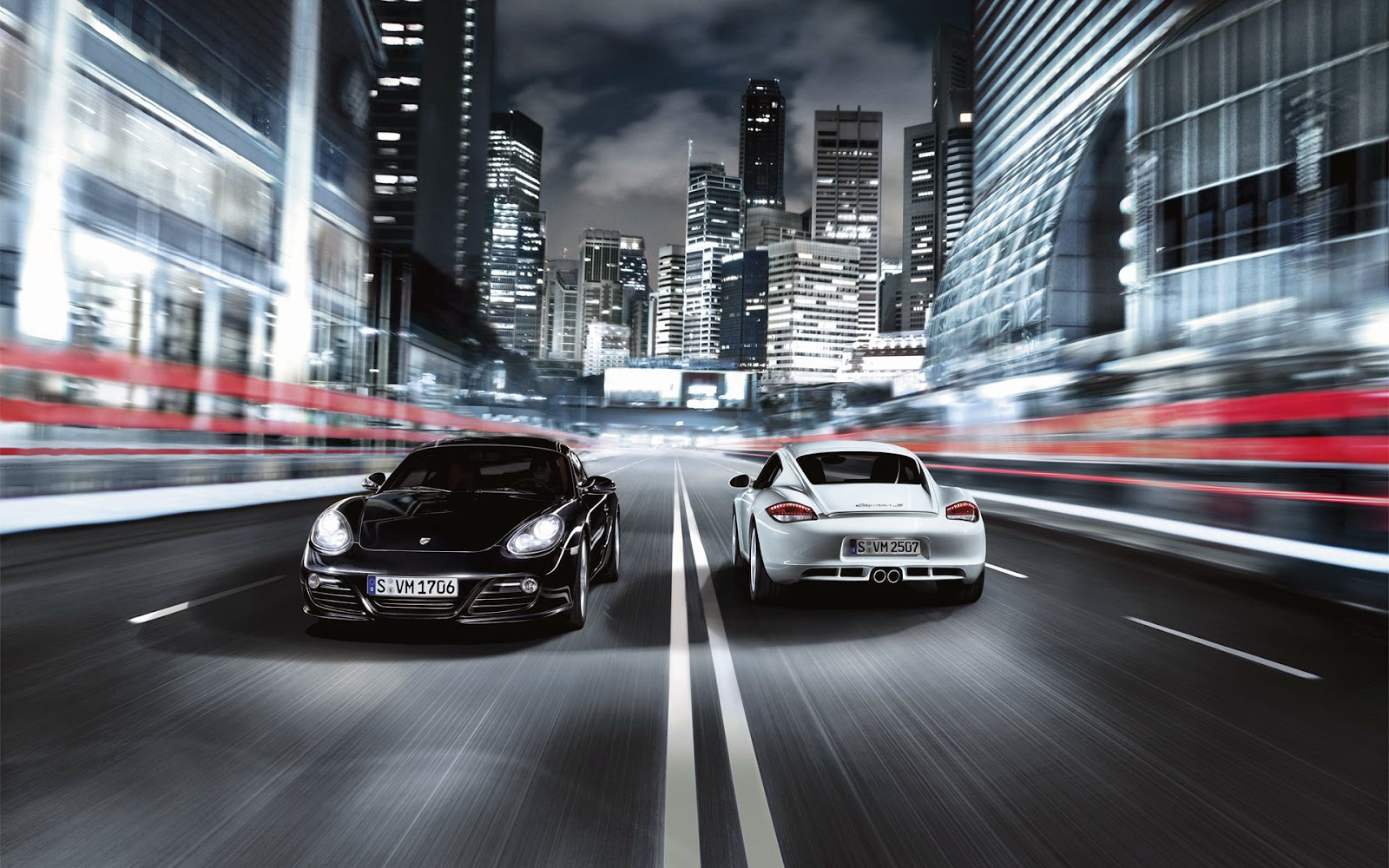 2014 New Porsche Cayman HD Wallpaper