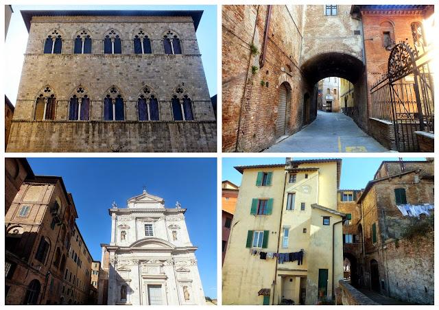 calles más bonitas de Siena