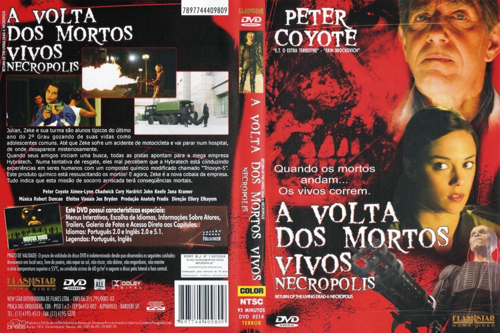 A Volta dos Mortos Vivos 4 DVD Capa