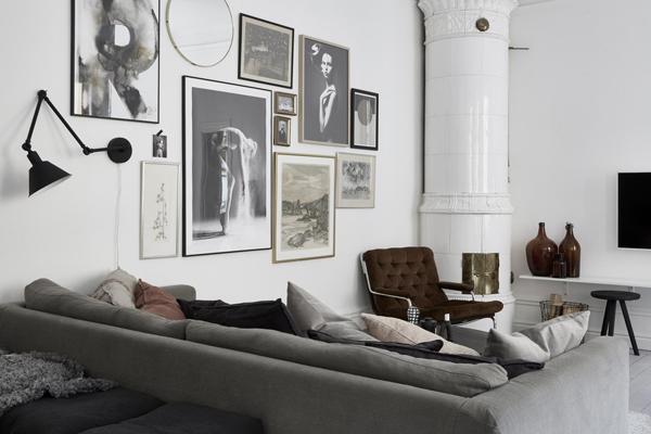 A serene scandinavian apartment for sale, via http://www.scandinavianlovesong.com/