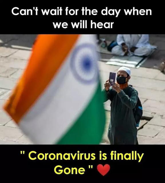 Corona Virus funny Status