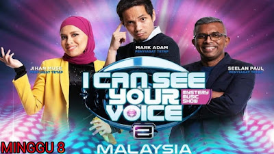 Live Streaming I Can See Your Voice Malaysia 2019 Minggu 8