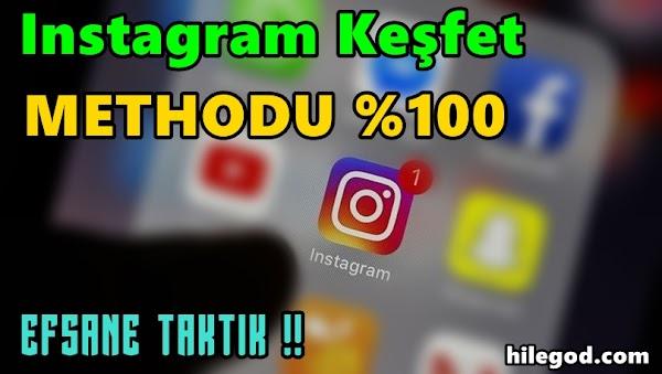 Instagram Keşfete Düşme Methodu 2021