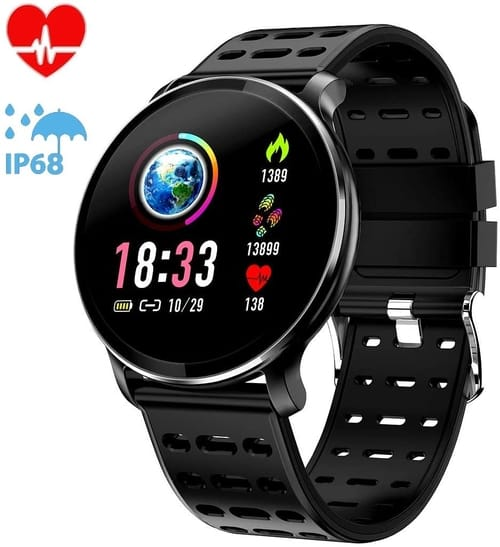 Review CanMixs NY03 Fitness Tracker Smart Watch