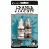 Ranger Enamel Accents, Black & White