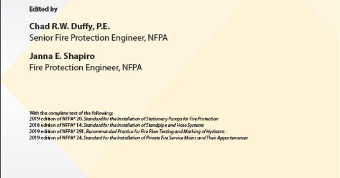 NFPA 20 & 14 : 2019 HANDBOOK