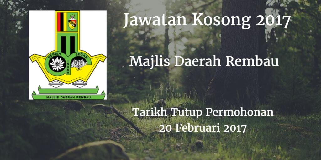 Jawatan Kosong MDR 20 Februari 2017