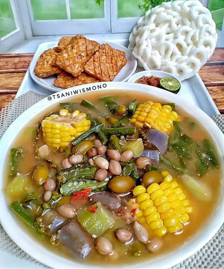 Kalori Sayur Sop : kalori, sayur, Makanan, Indonesia, Rendah, Kalori