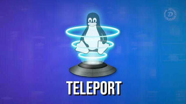 teleport-envio-transferir-wifi-arquivo-rede-local-linux-flarpak-flathub-snap-snapcraft-ubuntu-mint