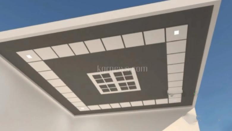 best pop design for roof plus minus pop putty design- plus minus pop design for lobby roof- low cost simple pop design-