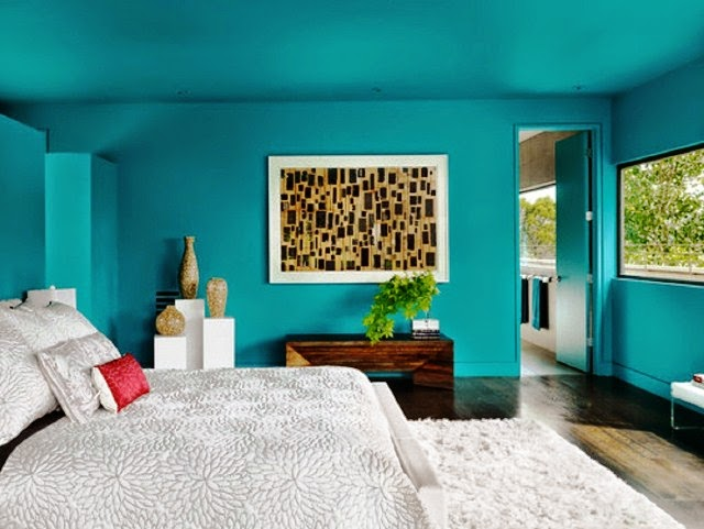 best blue wall paint colors