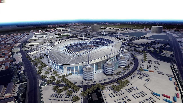 Aerial View and Lighting For Etihad In PES 2020 by Jostike Games