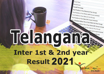 TS Inter 1st & 2nd year 2021 Results